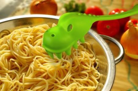 половник для спагетти динозавр
