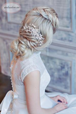 прическа на свадьбу 2015 -7