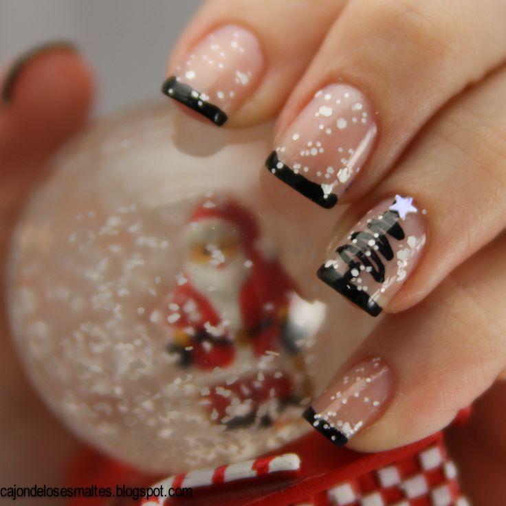 Шеллак дизайн ногтей на новый год