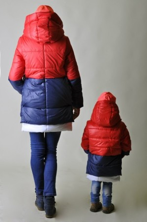 куртка маме детям