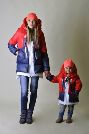 курткка как у мамы детям
