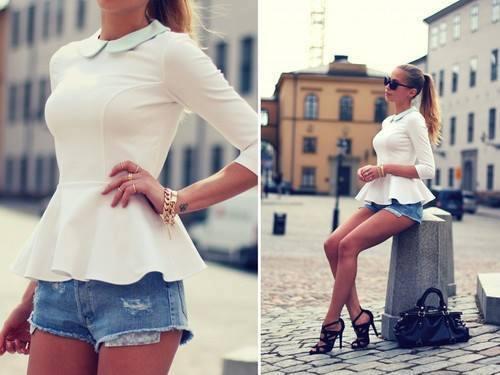 блузка баска шорты