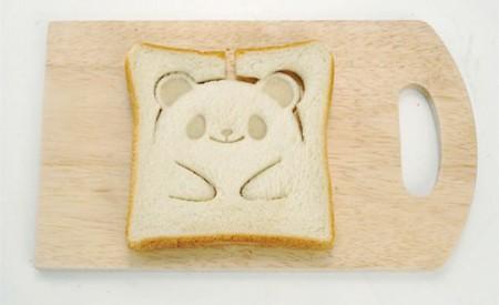 форма для тостов панда
